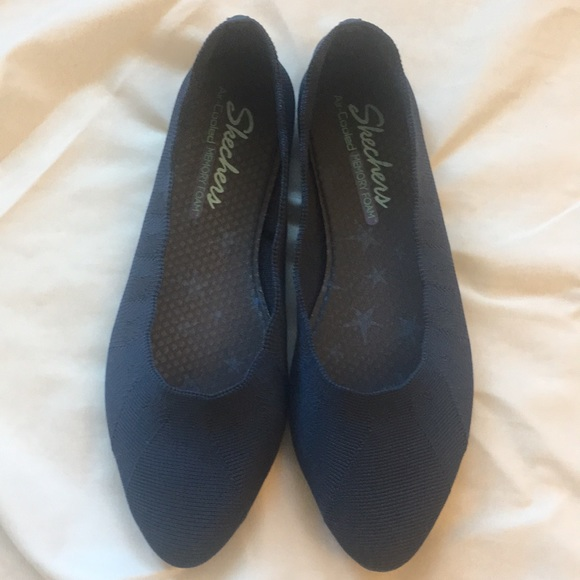 Skechers Cleo Bewitch Navy Ballet Flat